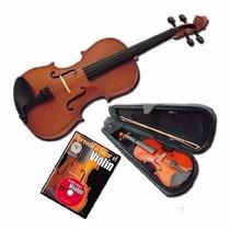 Violin Stradella 4/4 Mod Mv 1411 Con Estuche + Regalo!