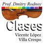 Clases - Violín - Prof. Dmitry Rodnoy