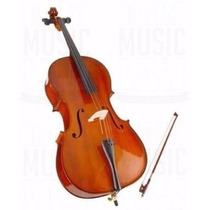 Oferta! Stradella Violoncello Mc 601112 1/2 Estudio C/funda