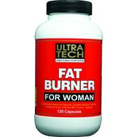 Quemador De Grasa Para Mujer, Fat Burner Ultra Tech 120 Cáps