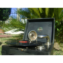 Mini Gramofono Vitrola Fonografo