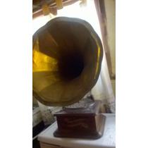Fonografo Antiguo Funcionando
