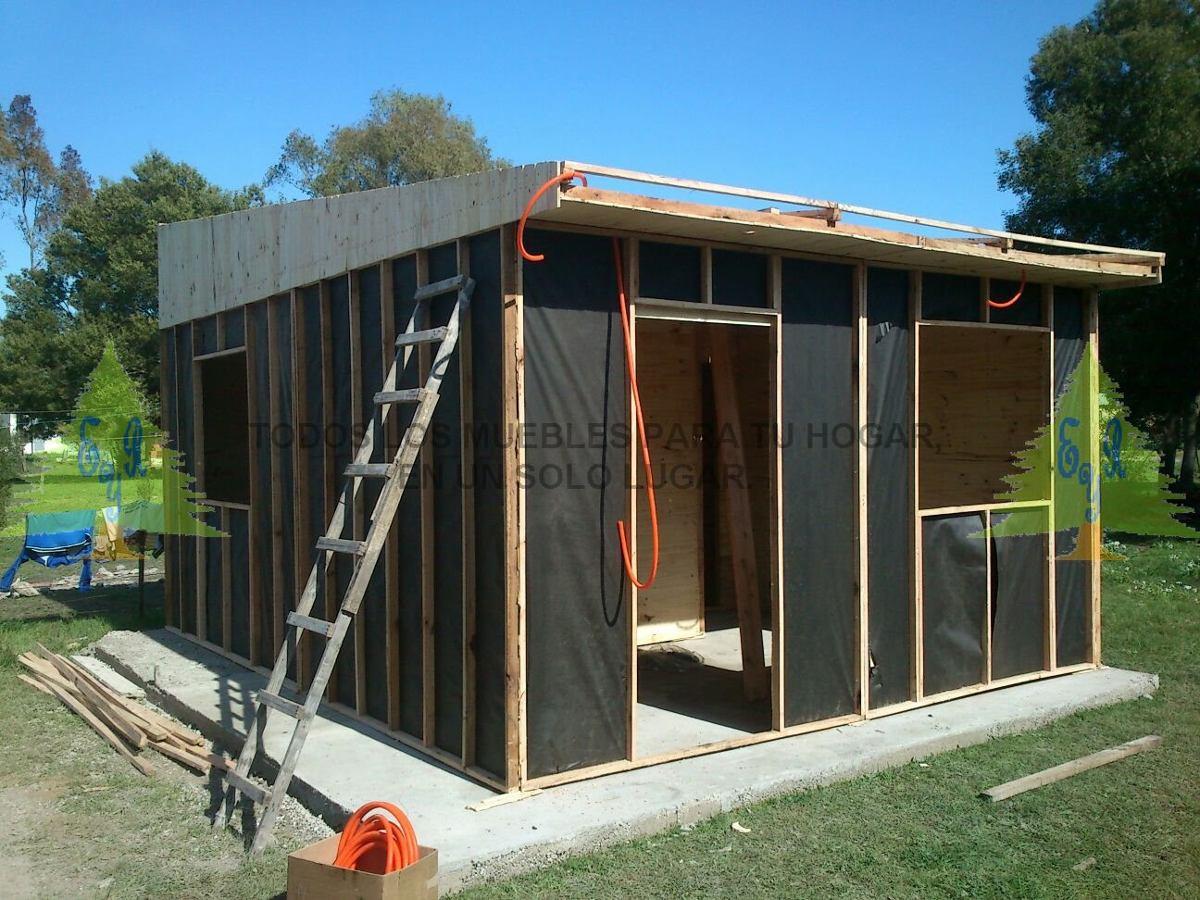 Vivienda prefabricada econ mica 11 mts somos fabricantes - Construccion de casa prefabricadas ...