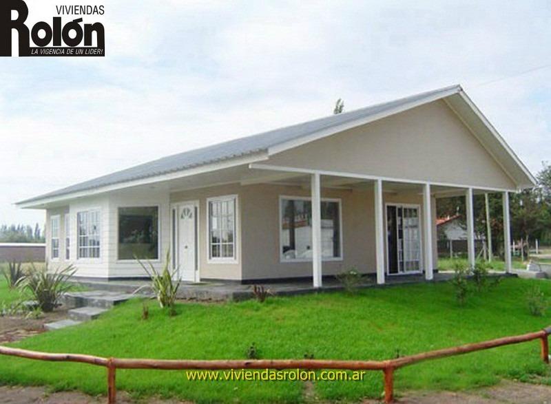 Casas prefabricadas madera viendas rolon for Viviendas industrializadas precios