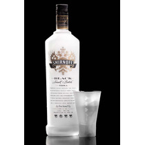 Vodka Smirnoff Black Copper Pot Still Importada Inglaterra