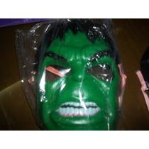 Mascara De Hulk De Plastico Duro