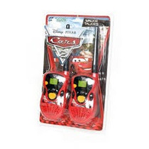 Walkie Talkies Cars Ditoys Con Codigo Morse 100 % Original