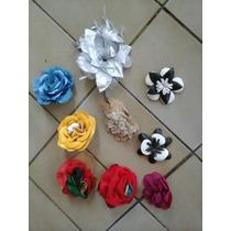 Flores Surtidas Para Hebillas Zapatos Prendedores