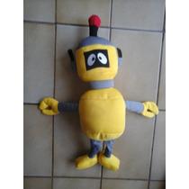 Muñeco De Yo Gaba Gaba Relleno Unico El Robot Amarillo