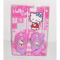 Walkie Talkie Transmisor Receptor Portatil Hello Kitty