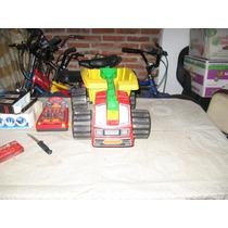 Camion Volcador Carriola Con Arrastre Y Pala