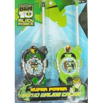 Walkie Talkie Handy Ben 10