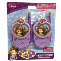 Walkie Talkies Princesita Sofia Licencia Original Intek