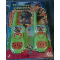 Walkie Talkie Handy Shrek