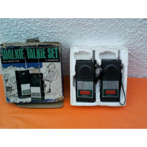 Walkie Talkie Set Marca Gakken Made In Japan Años 70s