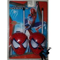 Walkie Takie Spiderman Para Niños