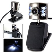 Contrareembolso Web Cam Con Luces - 2 Mp Usb - We-6011