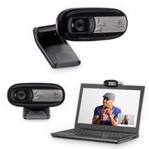 Web Cam Logitech C170 Microfono Vga Skype Msn Fotos 5mpx Usb