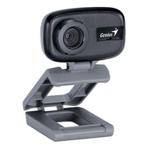Webcam Con Microfono Genius Facecam Camara Web Para Pc