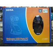 Webcam Usb Para Pc Seisa Lt-268t Microfono Incorporado
