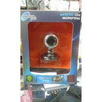 Webcam Con Microfono Noganet Leds Rotacion 360 (ng-747)