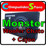 Sub Woofer Monster X-124s 12´´1000 Watts + Cajon Extra Chato