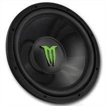 Subwoofer 12 Pulgadas Doble Bobina 1100w Monster Audio W124d