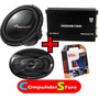 Combo Woofer Pioneer 310 + Parlantes 6995 + Potencia + Kit