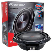 Subwoofer Pioneer Ts Sw 3002 S4 1500 W Extra Chato 12