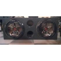 Woofer Bomber New Edge 12 150w Rms X 2 + Caja Acustica