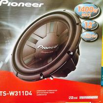 Woofer Pioneer Ts-w 311d Doble Bobina Potenciado 1400w 400rm