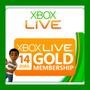 Membresias Xbox Live Gold 14 Dias Envio Inmediato Oferta !!!