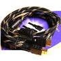 Cable Hdmi 3mts Doble Filtro Mallado Fullhd Ps3 Ps4 Xbox 360