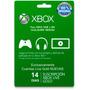 Xbox One Y Xbox 360 - Membresía Xbox Live Gold Por 14 Días