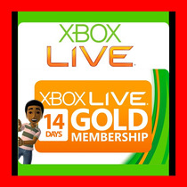 Xbox Live Gold 14 Días - Código Regíón Libre, Oferta