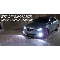 Kit De Luces Bixenon H4 9007 9004 Hid 6000k 8000k 10000k