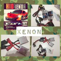 Kit De Luces De Xenon - Bixenon H1-h3-h4-h7-6000k-8000k