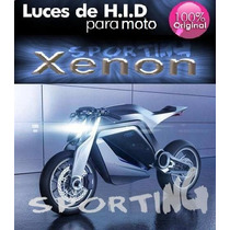 Kit Bi Xenon H4 Moto + Led - Ideal Honda Ybr 6000k / 8000k