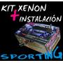 Kit De Luces Xenon H1 H3 H4 H7 H11 Instalado Con Gtia 100%
