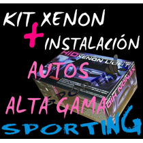 Kit Luces Bi Xenon H4 Autos Alta Gama - Sporting