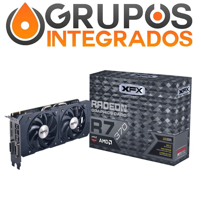 Xfx Radeon R7 370 Double Dissipation 2gb Ddr5 Pci-e Mantle ...