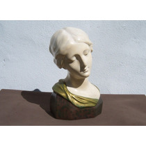 Historical*- Busto Madonna-firma Rimini-yeso Antiguo -envío