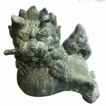 Perro Fu, Cemento, Grande, 2 Unidades (izquierdo Y Derecho)