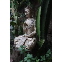 Estatua Buda Grande 30cm Para Interior Y Exterior