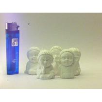 Budas Bebes Mini 5 Cm De Altura Decorativos Yeso