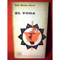 El Yoga Paul Masson Oursel Editorial Eudeba Buenos Aires