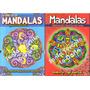 Libro Mandalas Para Pintar - Lote X 12, Punto Editorial