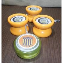 Lote De 4 Yo-yo De Rosario Central De Plastico Duro