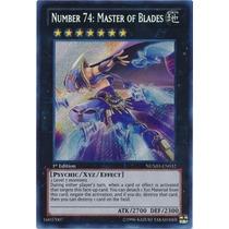 Number 74: Master Of Blades - Secret Rare 1st - Yu-gi-oh