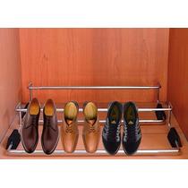 Botinero Cromado Fijo Y Extensible - Zapatos (pack X 2)